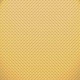 Kleine gouden plaat Stock Afbeelding