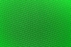 Kleine grüne Binärzahlen Stockfoto
