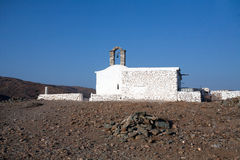 Kleine griechische Kirche Stockbild
