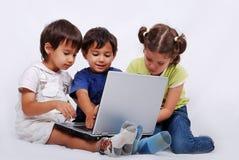 Kleine groep kinderen Royalty-vrije Stock Foto's