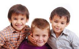 Kleine Gruppe Kinder lizenzfreie stockfotografie