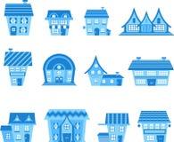 Kleine Häuser Stockfoto