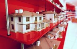 Kleine Häuser Lizenzfreie Stockfotografie