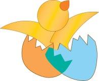Kleine Hühnerei-Illustrationen Lizenzfreies Stockfoto