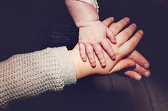 Kleine handen royalty-vrije stock foto