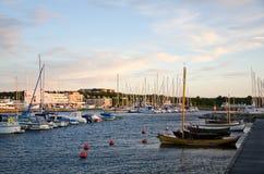 Kleine haven Stock Foto