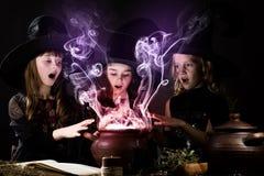 Kleine heksen Stock Afbeelding