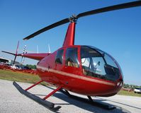 Kleine helikopter Stock Afbeelding