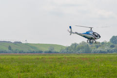 Kleine helikopter Stock Foto's