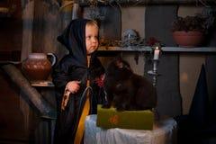 Kleine Hexenhütte Lizenzfreie Stockbilder