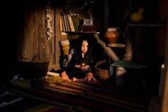 Kleine Hexenhütte Stockfotografie