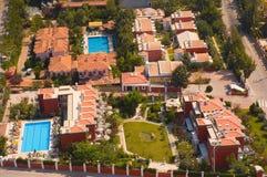 Kleine Hotels Lizenzfreie Stockfotos