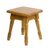Kleine houten stoel Stock Afbeeldingen