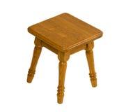 Kleine houten stoel Royalty-vrije Stock Afbeelding