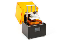 Kleine huis 3D printer Stock Foto