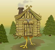 Kleine hut Royalty-vrije Stock Afbeelding