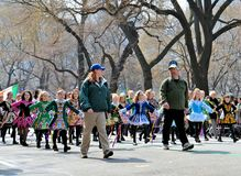 Kleine Ierse Dansers Royalty-vrije Stock Foto