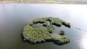 Kleine Insel stock video