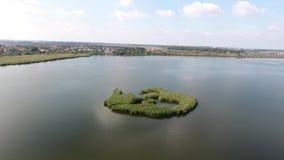 Kleine Insel stock video footage