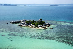 Kleine Insel, Belitung, Indoensia lizenzfreies stockbild