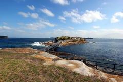 Kleine Insel an La perouse, Ost-Sydney Lizenzfreie Stockfotografie
