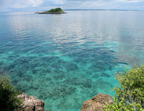 Kleine Insel nahe Malapascua, Phils Lizenzfreies Stockbild