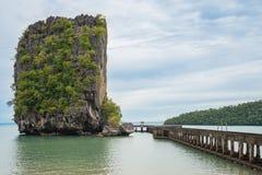 Kleine Inselbrücke Lizenzfreie Stockbilder