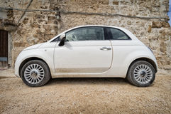 Kleine Italiaanse auto Royalty-vrije Stock Foto