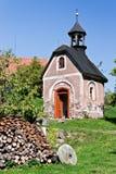 Kleine Kapelle in Böhmen - Tschechische Republik Stockfoto
