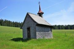 Kleine Kapelle in den ?sterreichischen Alpen stockfoto