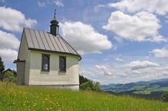 Kleine Kapelle im Allgäu Lizenzfreie Stockfotografie