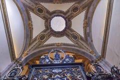 Kleine Kapellen-alte Basilika Guadalupe Mexiko City Mexiko Lizenzfreie Stockbilder