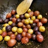 Kleine Kartoffeln Lizenzfreies Stockbild
