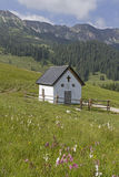 Kleine Karwendelkapelle Royalty Free Stock Photo