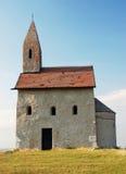Kleine katholieke kapel in Slowakije Stock Afbeeldingen