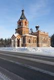 Kleine kerk royalty-vrije stock afbeelding