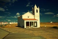 Kleine kerk in Alentejo, Portugal Royalty-vrije Stock Foto