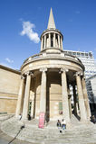 Kleine kerk in Londen, Engeland Royalty-vrije Stock Foto
