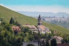 Kleine Kerk in Stuttgart royalty-vrije stock afbeeldingen