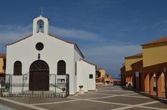 Kleine kerk in Tenerife Stock Afbeeldingen