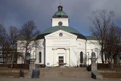Kleine kerkbuitenkant Royalty-vrije Stock Foto's