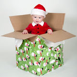 Kleine Kerstman Stock Afbeeldingen