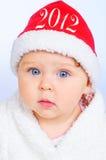 Kleine Kerstman Stock Afbeelding