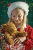 Kleine Kerstman royalty-vrije stock afbeelding