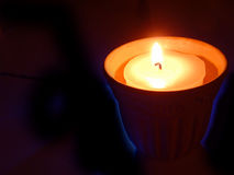 Kleine Kerze Lizenzfreie Stockfotos