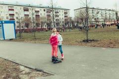 Kleine kinderen Stock Foto