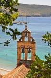 Kleine Kirche auf einem Strand Lizenzfreies Stockfoto