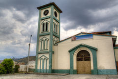 Kleine Kirche in Cali Lizenzfreies Stockfoto