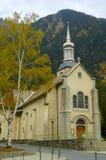 Kleine Kirche in den Bergen Lizenzfreie Stockbilder