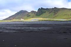 Kleine Kirche, Island stockfotos
